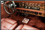 Here is the later Series I dashboard with burlwood. These models also offered a wood Nardi steering wheel as an option.