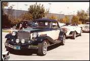 In 1982, Alfred DiMora´s Classic Clenet Club has hundreds of Clenets attend a rally at the Spa in Palm Springs, California.