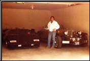 Alfred DiMora visits Wayne Newton´s home and poses with Wayne´s Clenet Series I #69.