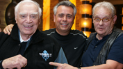 Ernest Borgnine, Alfred DiMora, and Bo Hopkins